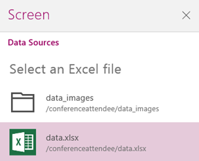 powerapps-select-data-xlsx